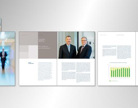 DIN-Geschäftsbericht im neuen Corporate Design